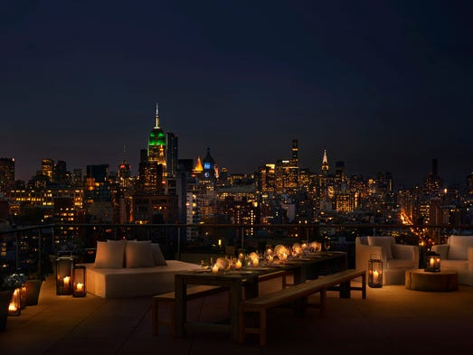 In New York City, Ian Schrager's PUBLIC hotel opened
