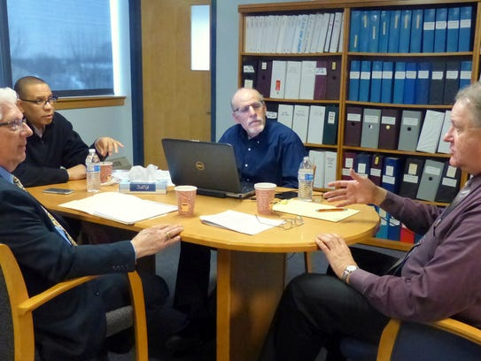 Discussing the realignment of the Educational Services