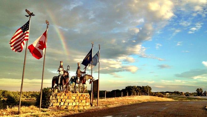 On the Blackfeet Reservation