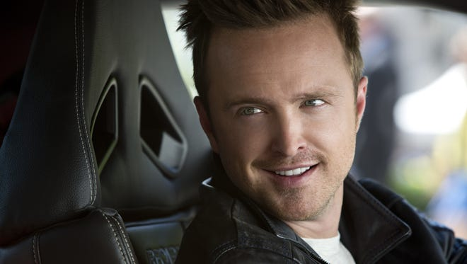 "Aaron Paul stars as the pedal-friendly protagonist of ""Need for Speed."""
