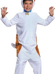 """This Max costume from """"The Secret Life of Pets"""" includes a jumpsuit and headpiece. $44.99 online only at partycity.com."""