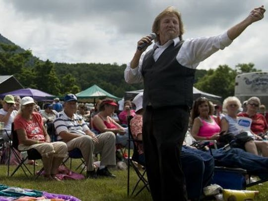 Gospel singer Michael Combs returns for the 90th Singing on the Mountain at MacRae Meadows at the base of Grandfather Mountain June 22.