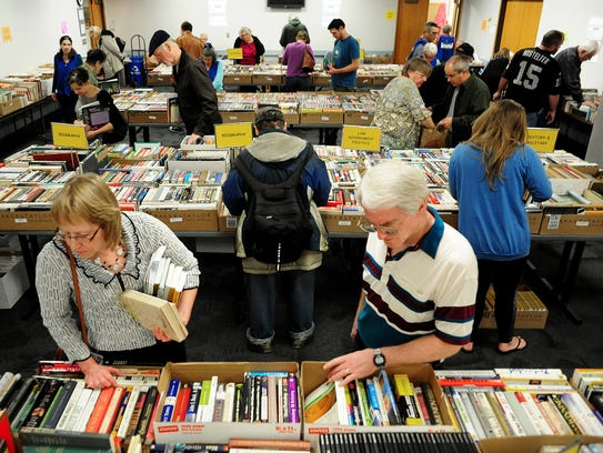 Friends of Salem Library Spring Book Sale:Selection