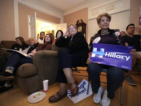 El Paso County Democrats watch the Presidential debate