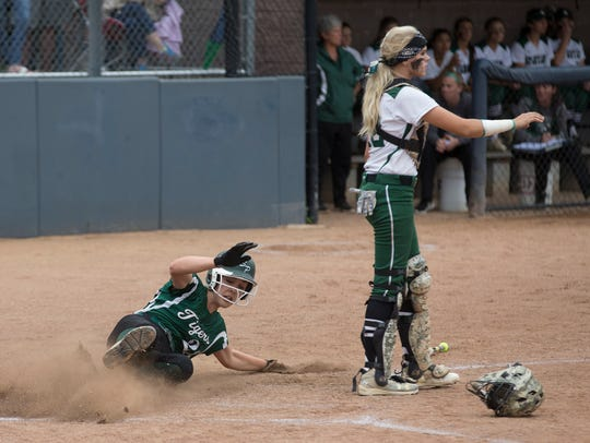 South Plainfield's Jillian Holoboski slides in for