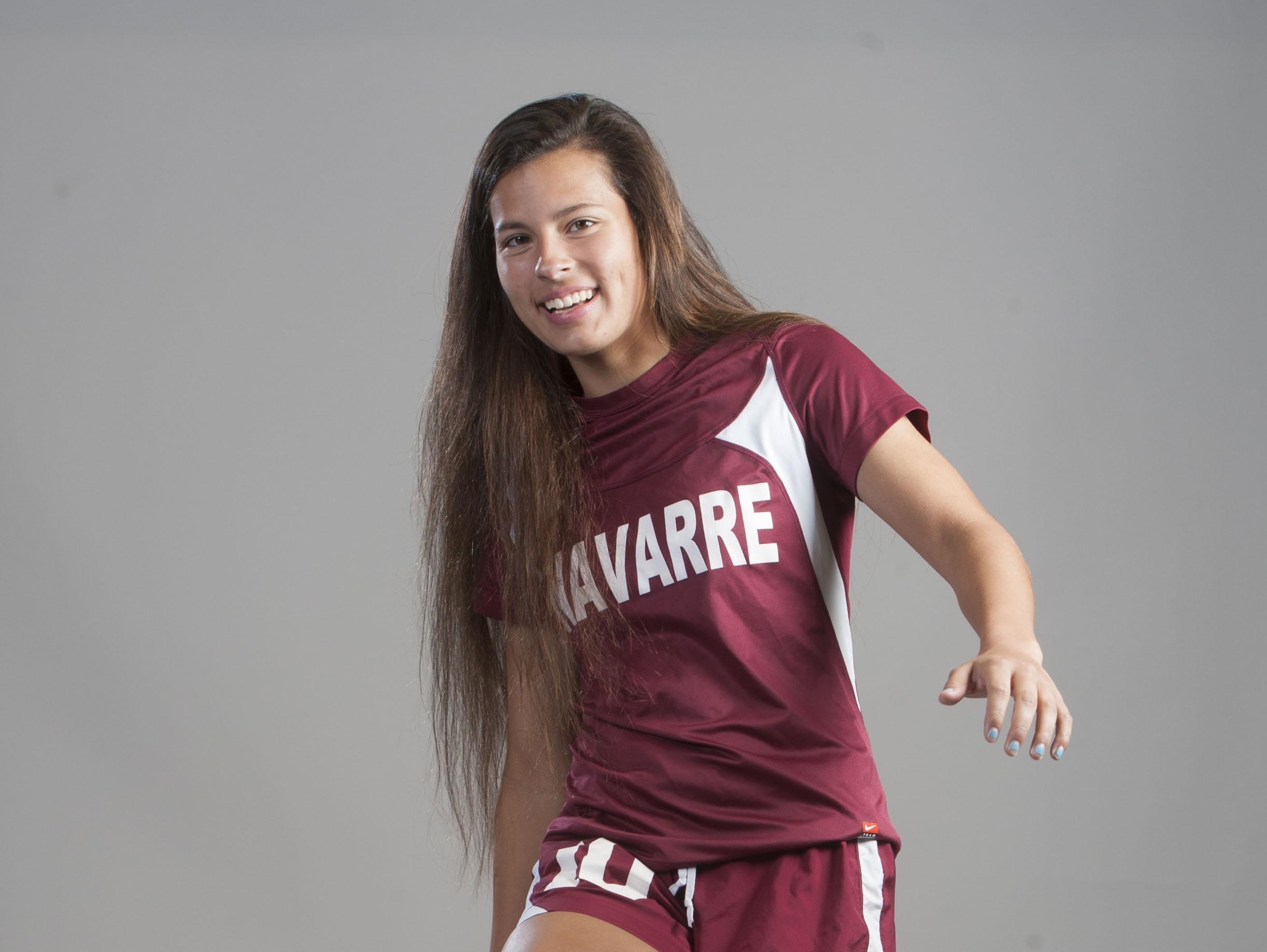 Emily Madril, Navarre girls soccer.