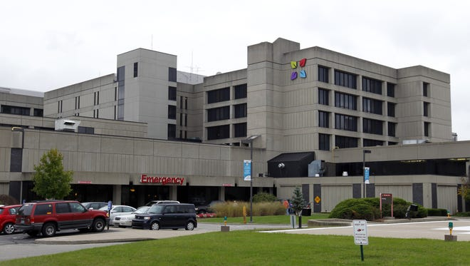 Baptist Health Louisville, pictured here in file art, received four out of five stars in a new rating system from the U.S. Centers for Medicare & Medicaid Services.