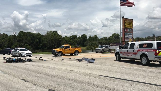 A fatal vehicle crash on U.S. 41 closed the road way during the investigation.