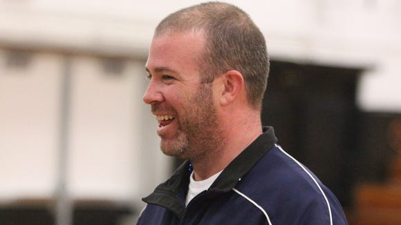 Suffern coach Sean Barnes led the Mounties to their