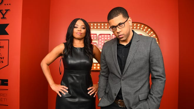 """Jemele Hill, left, and Michael Smith are the new hosts of the 6 p.m. weekday """"SportsCenter."""""""