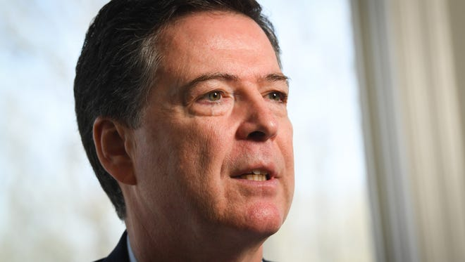 Former FBI director James Comey has a best seller with his new book.