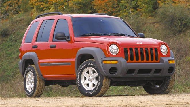 A 2002 Jeep Liberty Sport.