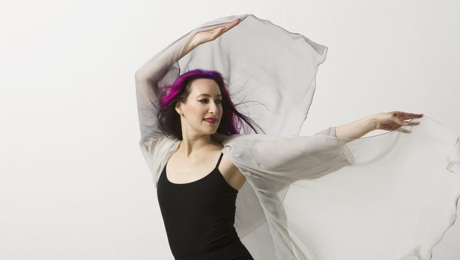 """Rachael Sage brings her new album, """"Choreographic,"""" to Cyber Cafe West in Binghamton on Saturday."""