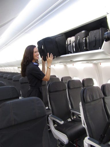 Alaska Airlines Is First To Take Boeing 737 With Space Bins