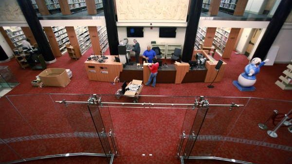 The Wilmington Public Library underwent a two-year, $11.6 million dollar renovation.
