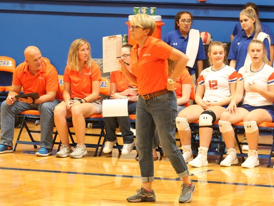 San Angelo Central High School head volleyball coach Connie Bozarth led the Lady Cats to the playoffs for the ninth straight year in 2018.