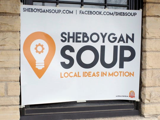 Sheboygan SOUP had an event where new ideas were discussed that will improve the city Thursday April 27, 2017 at Kiwanis Park in Sheboygan, Wis. The community-based crowdfunding dinner — its name stands for Support Our Urban Projects — supports local projects and is modeled after the successful Detroit SOUP.