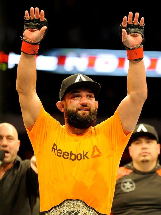 AP UFC 171 MIXED MARTIAL ARTS S MMA USA TX