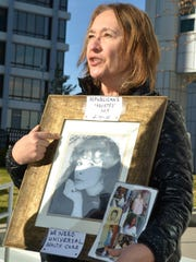 Marcella Salkowski talks about the death of her daughter, Catherine Catherine Ann Oltmanns, who died just a few weeks before the Affordable Care Act was passed.