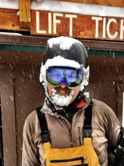 Teton Pass Ski Area saw Dan Naylor of Choteau and hundreds of happy skiers from across the state making the most of 55 inches of fresh powder Monday during the Extreme '17 snowstorm.