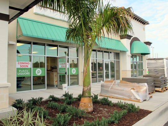 A Publix Liquors store, a nail salon and a Chinese