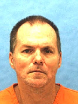 This undated photo provided by the Florida Department of Corrections shows Mark Asay. If his final appeals are denied, Asay is to die by lethal injection after 6 p.m. Thursday, Aug. 24, 2017. Asay was convicted by a jury of two racially motivated, premeditated murders in Jacksonville in 1987.
