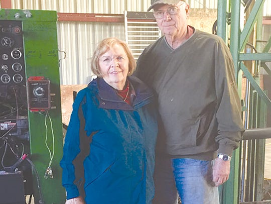 Sharon and Wally Huggett are celebrating 50 years as