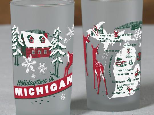 A frosty glass.