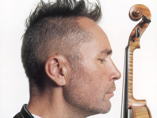Violinist Nigel Kennedy visits U S  for first time since 1998