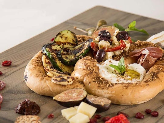 Pretzel plate from Breakfast Kitchen Bar at Scottsdale Quarter.