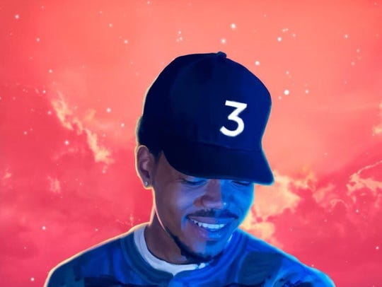 """""""Coloring Book"""" by Chance the Rapper."""