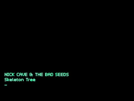 """""""Skeleton Tree"""" by Nick Cave and the Bad Seeds."""