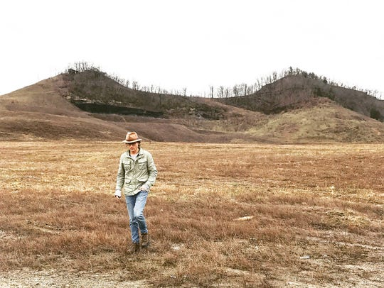 Jonathan Webb, CEO of AppHarvest scouts land in Pikeville