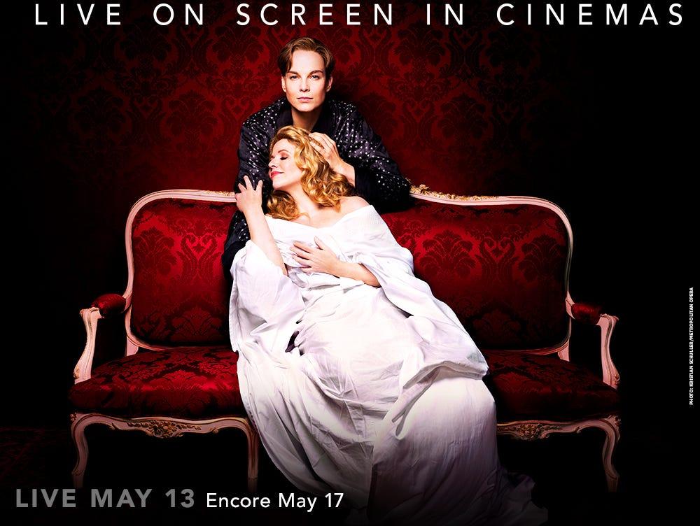 THE MET: LIVE IN HD is happy to present Der Rosenkavalier