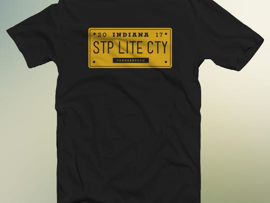 Limited edition shirts available at the Sock Hop.