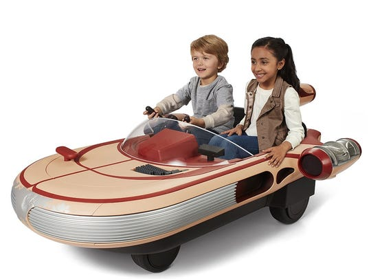 Star Wars Luke Skywalker's Landspeeder by Radio Flyer.