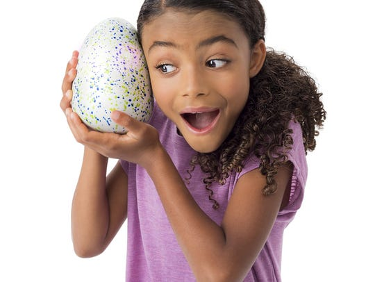 Hatchimals are among the predicted hot toys this year,