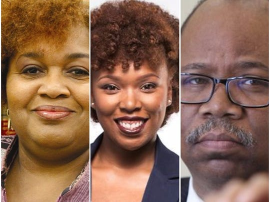 Cynthia Elliott, Natalie Sheppard and Van Henri White were all winners on Election Day.