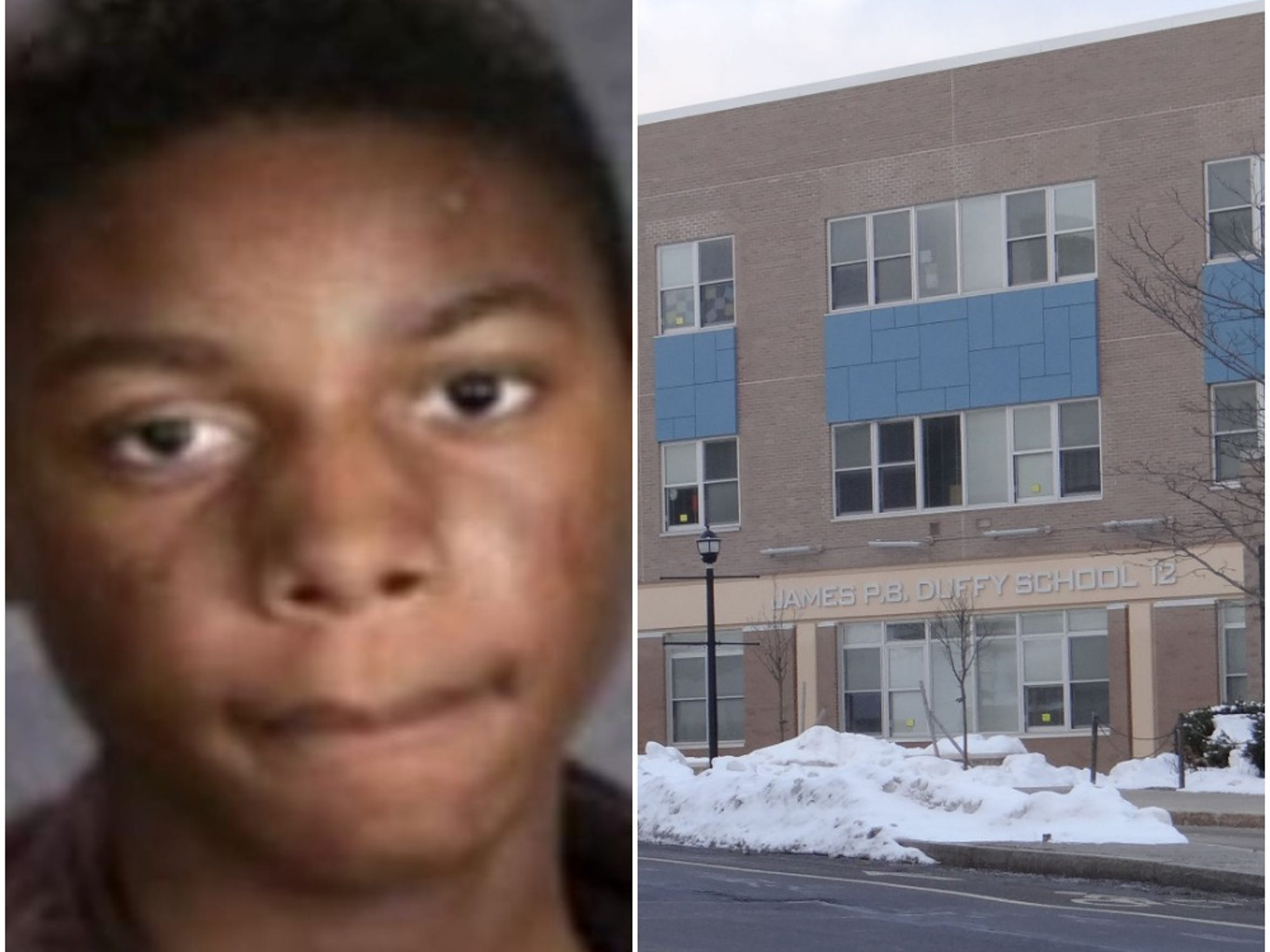 Trevyan Rowe went missing from School 12.