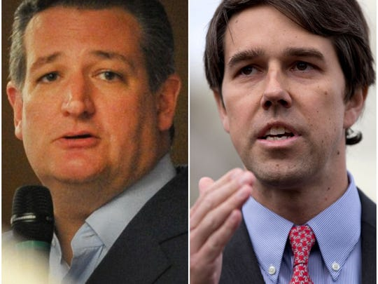 The race for the U.S. Senate between Republican incumbent Ted Cruz and Democrat Beto O'Rourke will be decided Nov. 6.