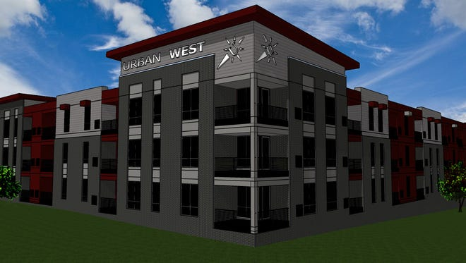 The Urban West complex will be located at the corner of N. 12th Avenue and Merrill Avenue in Wausau.