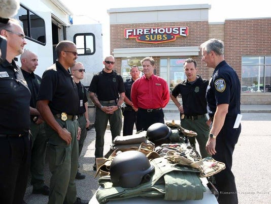 Firehouse subs donation