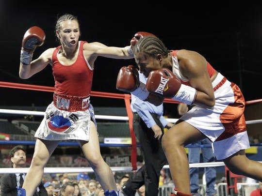 Jennifer Han defeated Calista Silgado to retain her IBF Featherweight championship on Friday night at Southwest University Park.