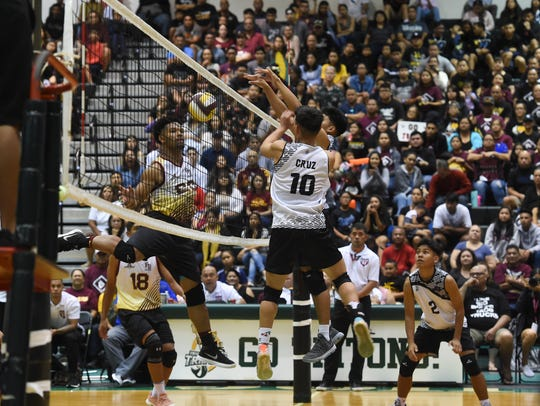 The Father Duenas Friars went head-to-head with the