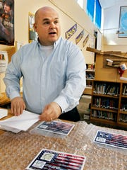 Randy Ferrell, library media specialist, talks about