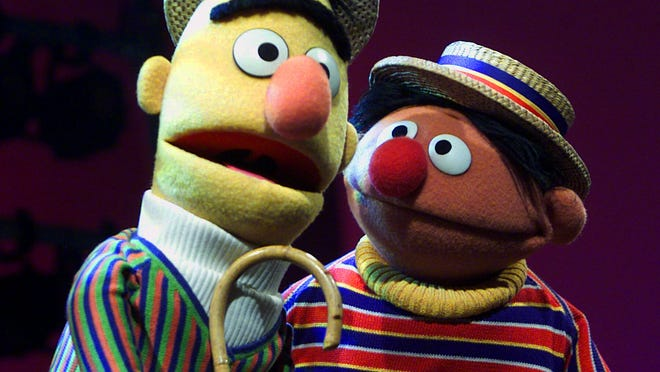 """Bert and Ernie from """"Sesame Street"""" are shown in this file image. Gov. Scott Walker's budget would make substantial cuts to Wisconsin Public Television and Wisconsin Public Radio."""
