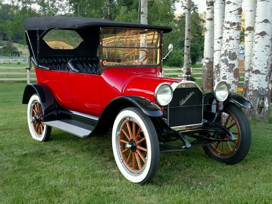 This 1915 Studebaker is scheduled for auction at Barrett-Jackson Scottsdale on Tuesday, Jan. 17, 2017.