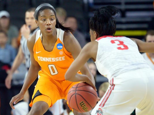 NCAA Womens Basketball: NCAA Tournament-Sioux Falls Regional-Ohio State vs Tennessee