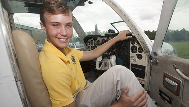 Pensacola High School IB student Scotty McGaugh will spend part of his summer flying around the country and raising money for the Flight for Pennies program. The purpose of McGaugh's the trip is to raise awareness of child hunger, and to collected money to help feed children in need.