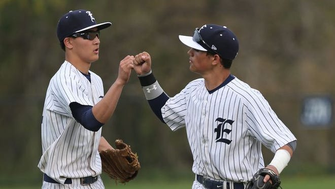 Eastchester defeated Nyack 5-4's in a boys baseball game at Eastchester High School May 5, 2015.